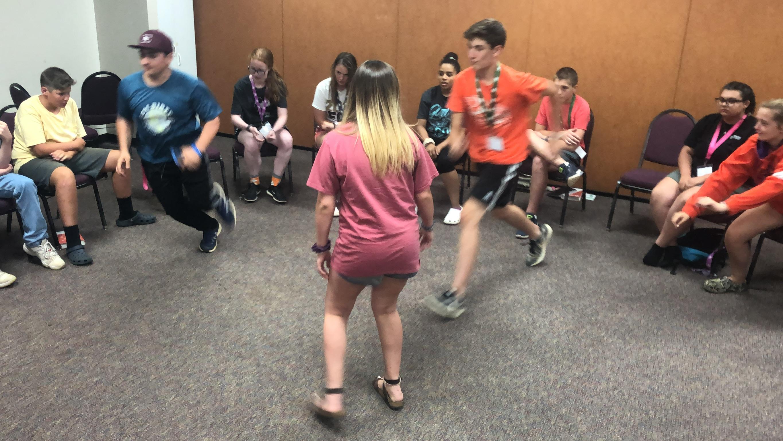 Games at Summer Camp