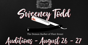 Auditions - Sweeney Todd