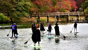 The Witches of Spring Lake are paddling to raise money for the Spring Lake Theatre Recovery Fund