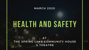 Health and Safety at the Spring Lake Community House