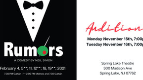 Audition call: Rumors