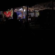 stage at dark