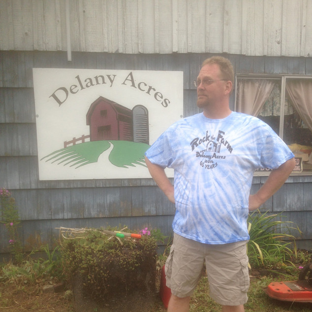 Delany Acres Sign