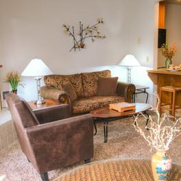 Living Room of Landmark Orcas Island unit