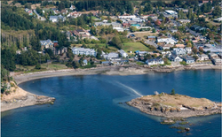 Aerial View of Eastsound