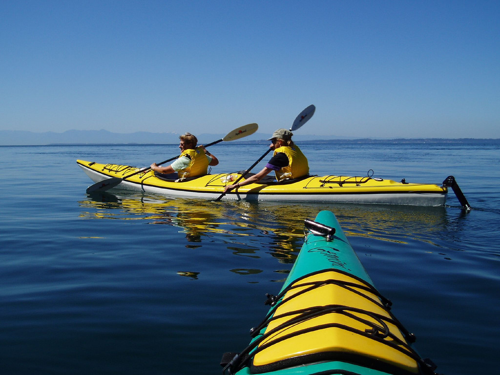 Kayaking the Waters of Orcas