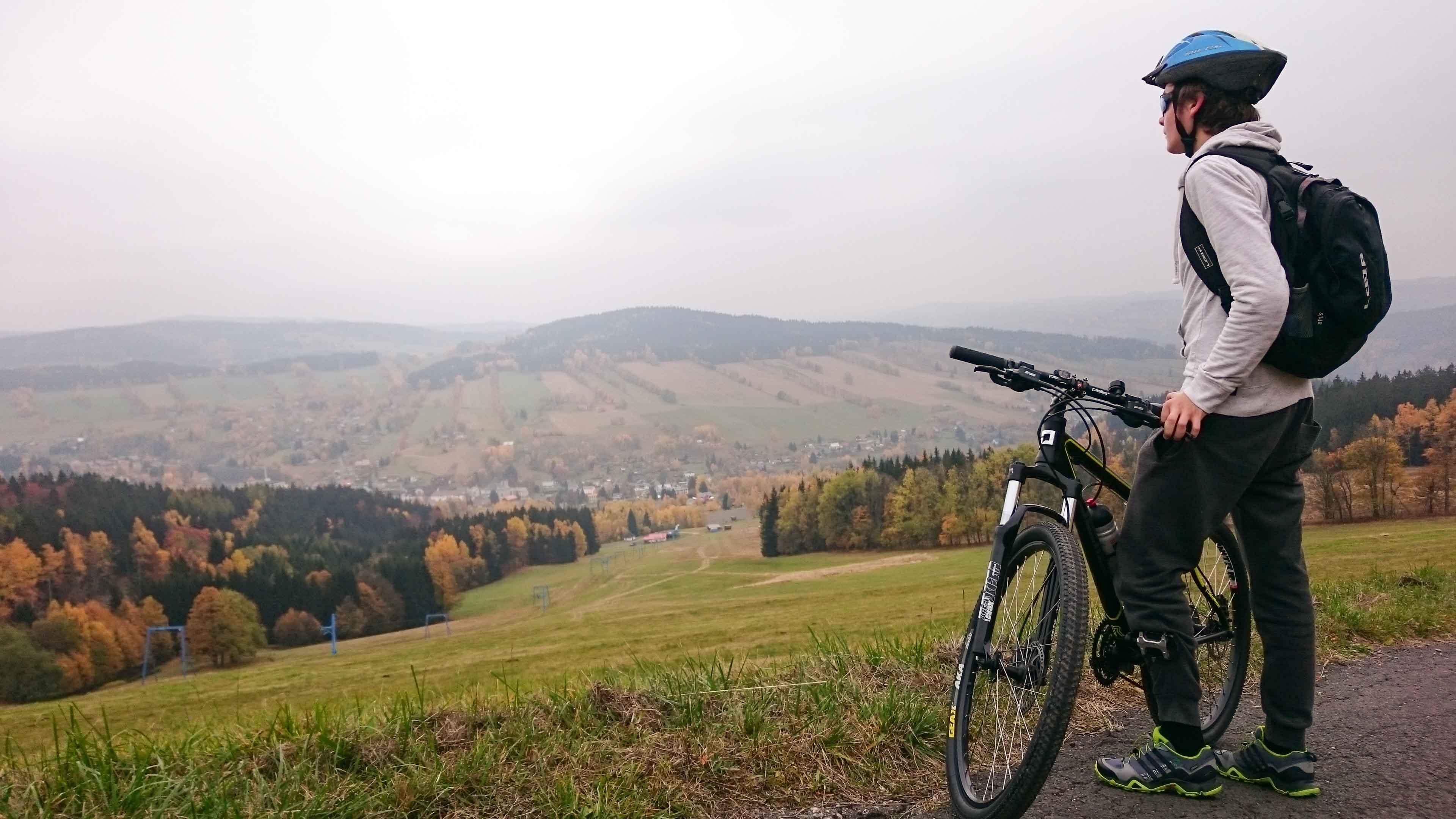 Mountain Biking Trails in Moran SP