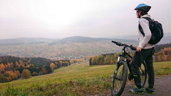 Mountain Biking Trails in Moran SP