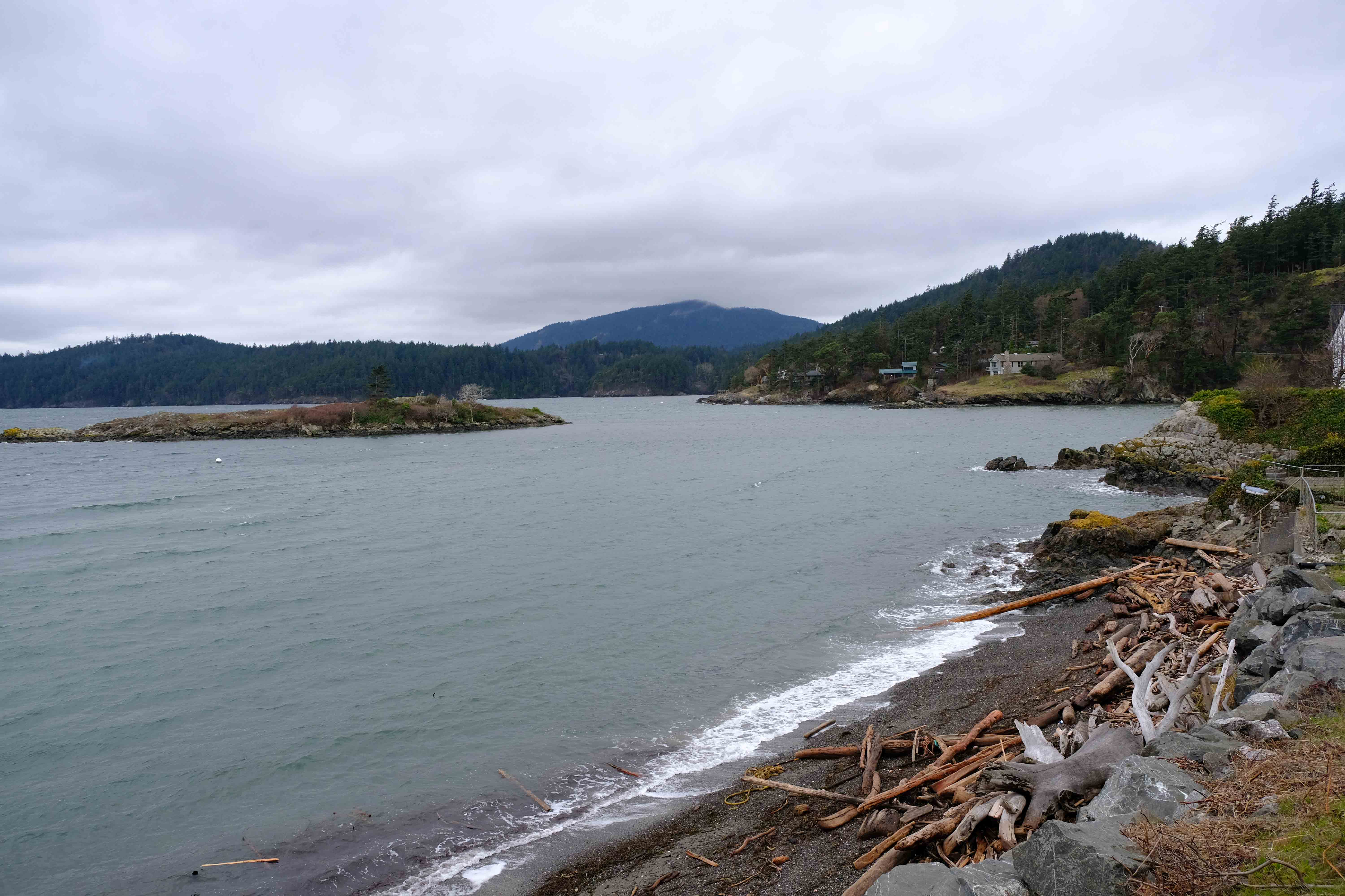 The Beautiful Winter Coast of Orcas