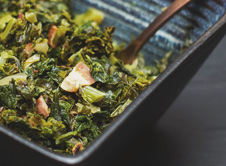 Keto Kale with Bacon