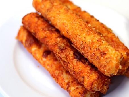 How to make Low Carb Mozzarella Sticks