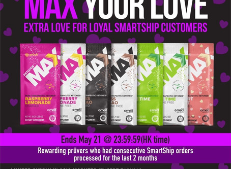 Max Your Love with our  5:20 Pruvit Promo