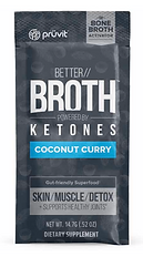 Pruvit's Keto OS Coconut Curry Better Broth ketones