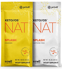 Pruvit's Keto OS NAT Splash Ketones