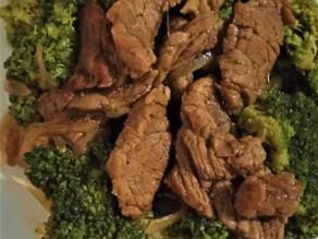 Keto Beef Broccoli