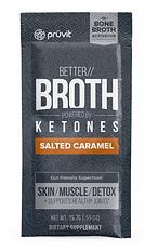 Pruvit's Keto OS Salted Caramel Better Broth Ketones