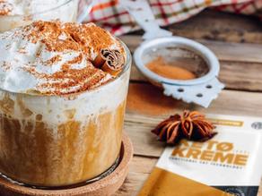 Pumpkin Spice Keto Kreme is Back