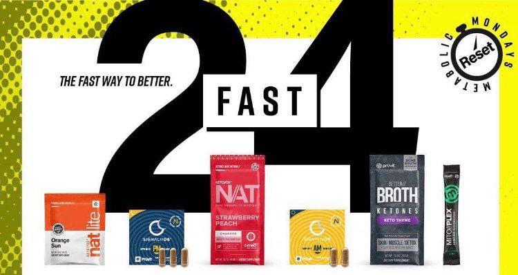 Pruvit's 24 fast
