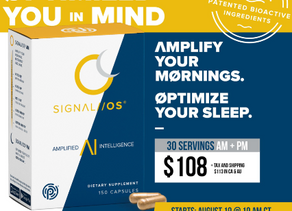 Amplified Intelligence AM/PMSIGNAL //OS® by Pruvit