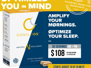Amplified Intelligence AM/PMSIGNAL //OS® by Pruvit