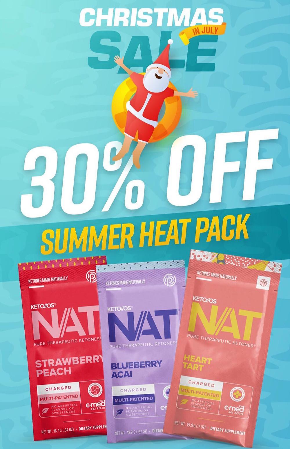 Pruvit's Summer Heat Pack on Sale