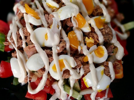 Try out this Tuna and Egg Salad Recipe