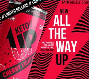 Pruvit's KETO//UP® Cherry Lighting