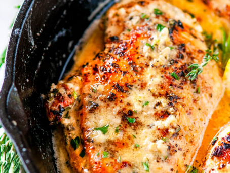 Garlic Butter Chicken Recipe (Low Carb)