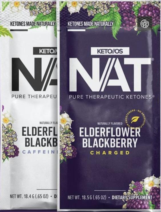 Pruvit's Keto OS NAT Elderflower blackberry