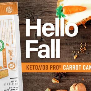 Pruvit's KETO OS PRO Carrot Cake