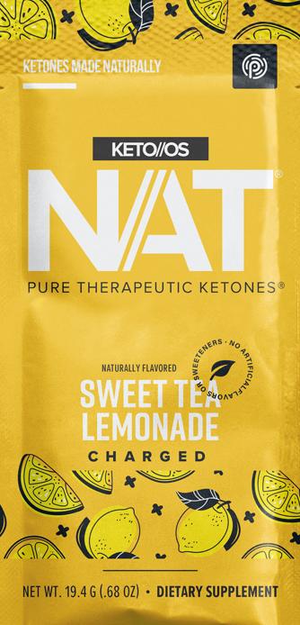 Pruvit's Sweet Tea Lemonade