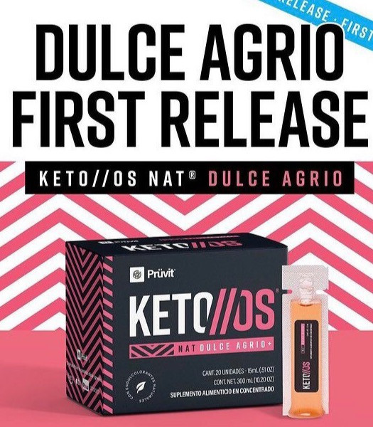 Mexico's KETO OS NAT  Dulce Agrio Ketones
