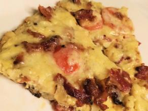 Tasty Bacon Cauliflower Frittata Recipe