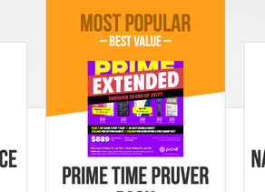 Upgrade BETTER with 25% OFF Pruvit Promoter Packs Shop Now
