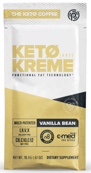 Pruvit's Vanilla Bean Keto Kreme