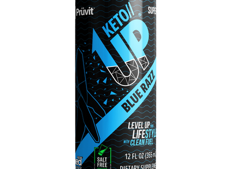 Introducing KETO UP Blue Razz