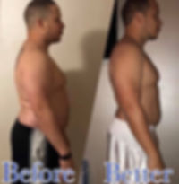 mr ketosis starting his before and after picture with ketogenic diet and keto os nat by pruvit