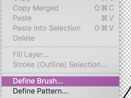 Create a Photoshop Brush from Text