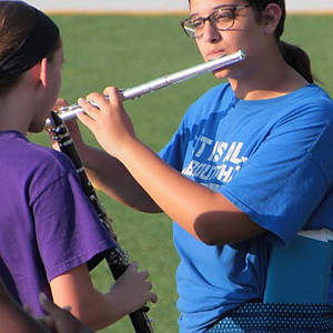 2018 Shawnee Mission West Marching Band Ice Cream Social