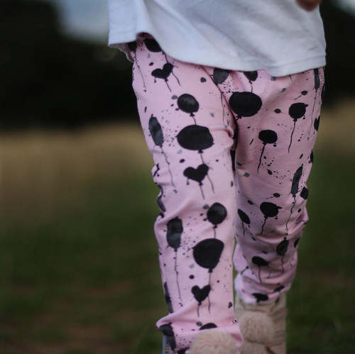 17160b1c1fd ... 2 little legs balloons pink handmade leggings rompers birthday