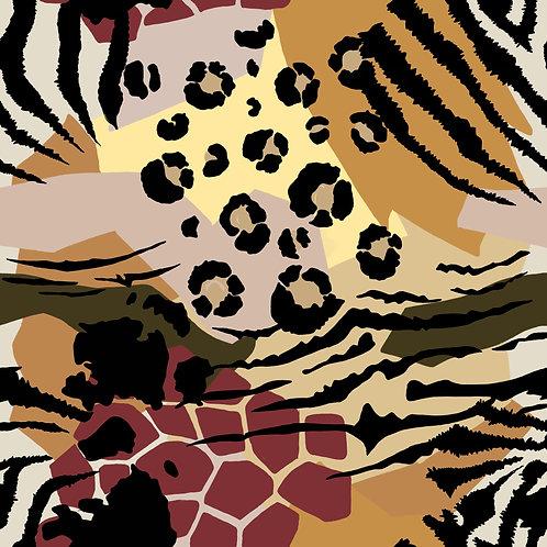 animal print cheetah zebra kids childrens luxury handmade