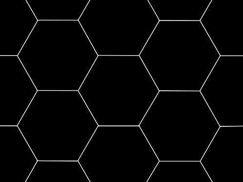 hexagans black white mono kids childrens luxury handmade
