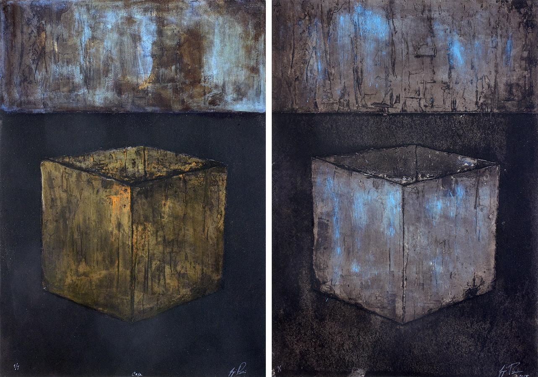 2015 - Joaqu°n Pi§eiro, Caxa, Monotipo, 67.5 x 48 cm (2)a