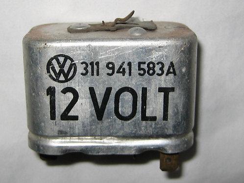 Headlight, Dimmer Relay, 100W / 12 Volt 1967-1970, Part number 311 941 583A