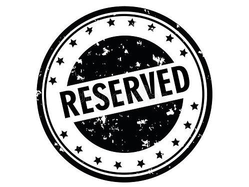 Acompte de réservation Onglerie