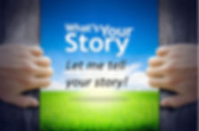What's the story you want your web site to tell?