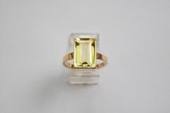 14kt Gold Large Square Labradorite 4.52 cts. $1300