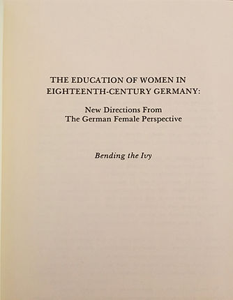 German Women Education