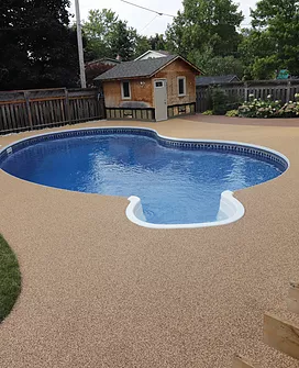 Soft Pool Deck