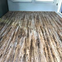 Hallmark Floor System_Wood Look application_Room Floor